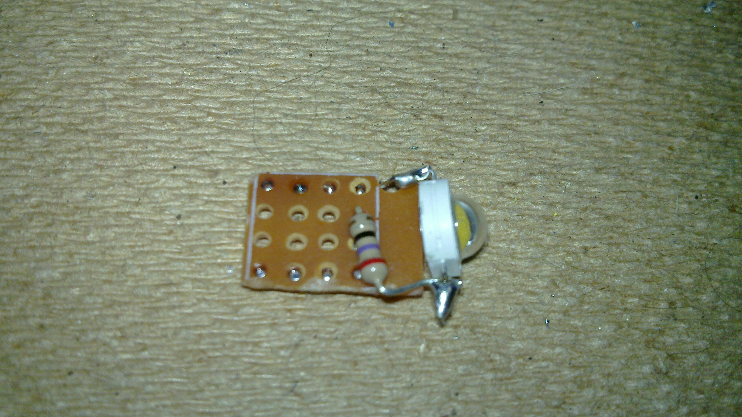 TinyUSB 1W led - the other side