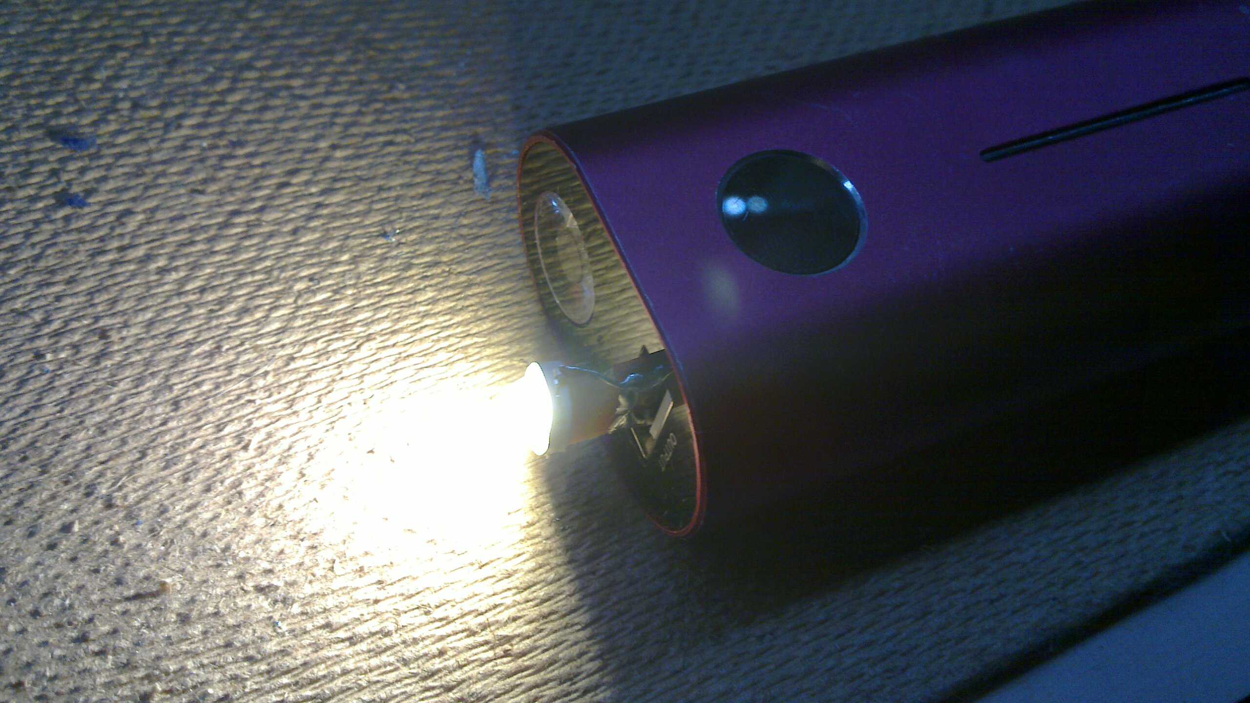 TinyUSB 1W led without testing equipment