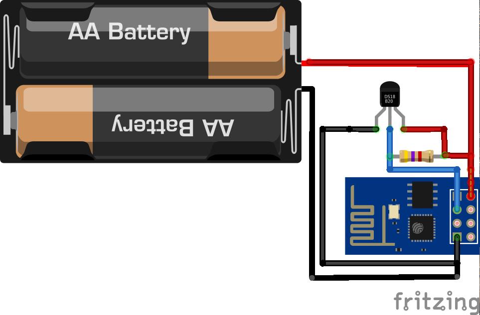 ESP8266 + ds18b20 + thingspeak+ nodemcu – Vaasa Hacklab