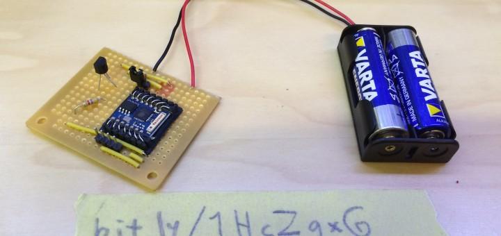Battery powered ESP8266