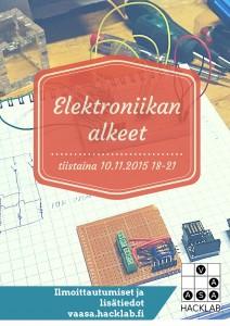 elektroniikan alkeet