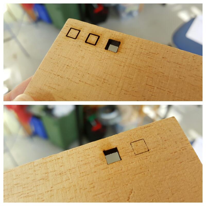 Laser cutting balsa wood – Vaasa Hacklab